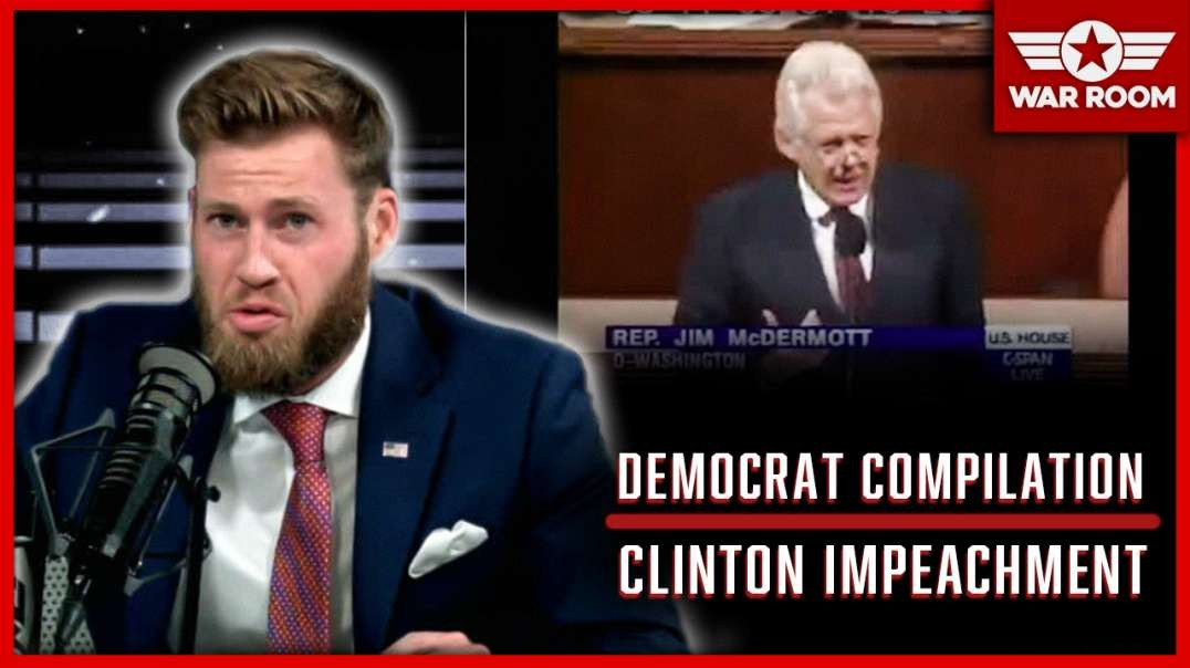 "Compilation: Democrats Use The Term ""Lynching"" When Talking About Clinton Impeachment"