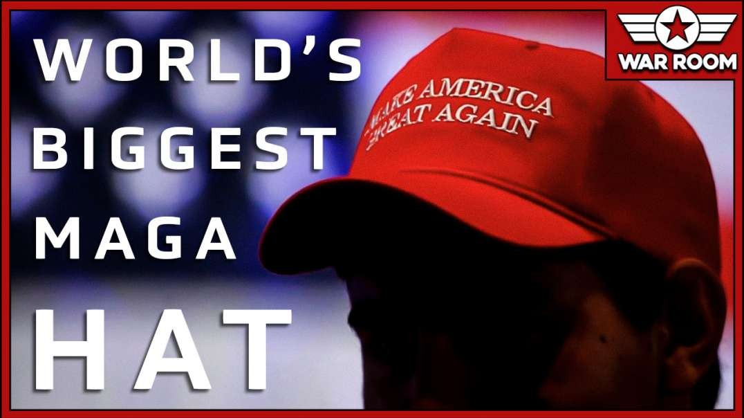 Bryson Gray Of The MAGA Challenge Shows Off World's Biggest MAGA Hat