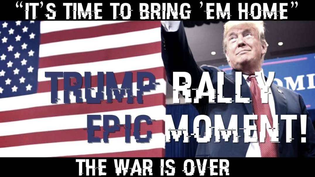 Trump Delivers Tearjerker Speech at MAGA Rally