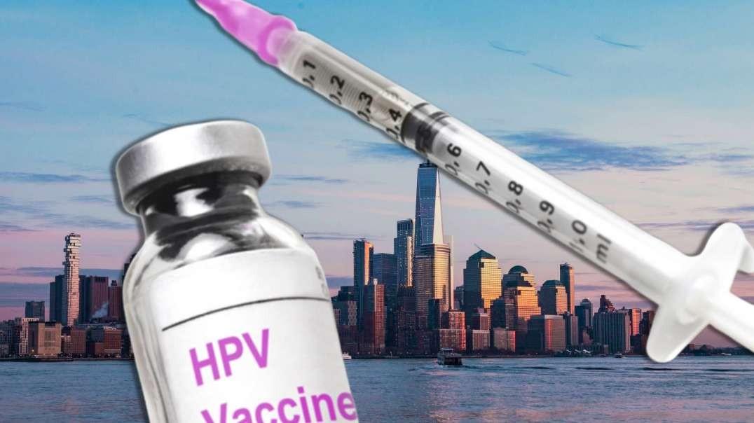 NY Pushes Mandatory HPV Vaccines