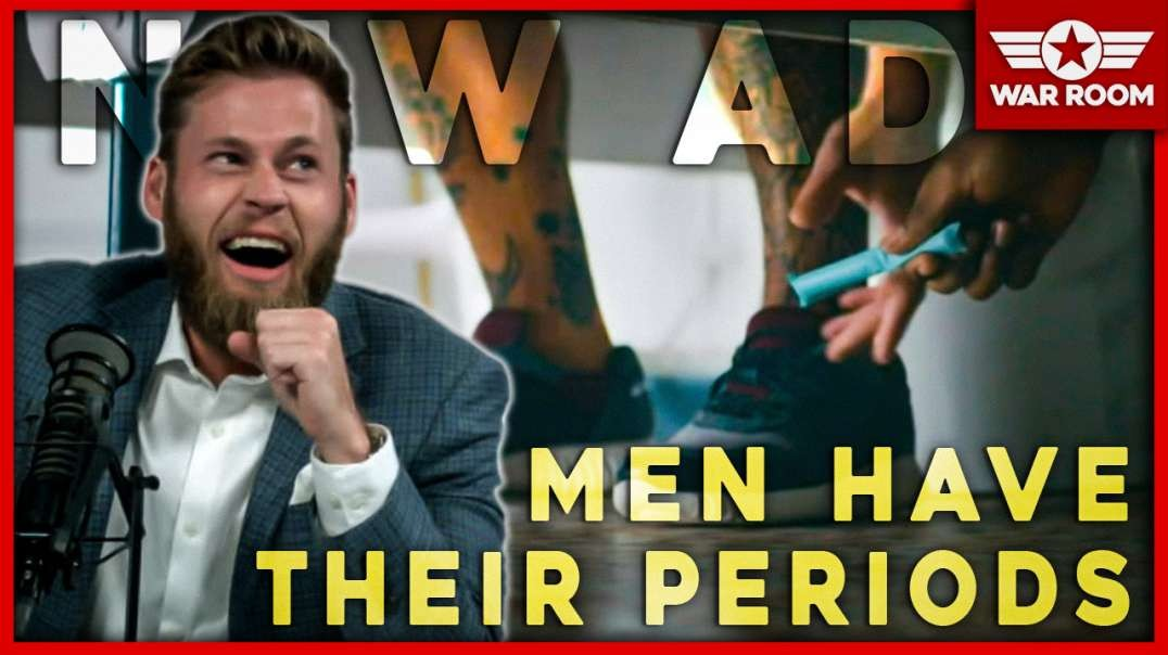 New Ad Features Men And Young Boys Having Their Periods