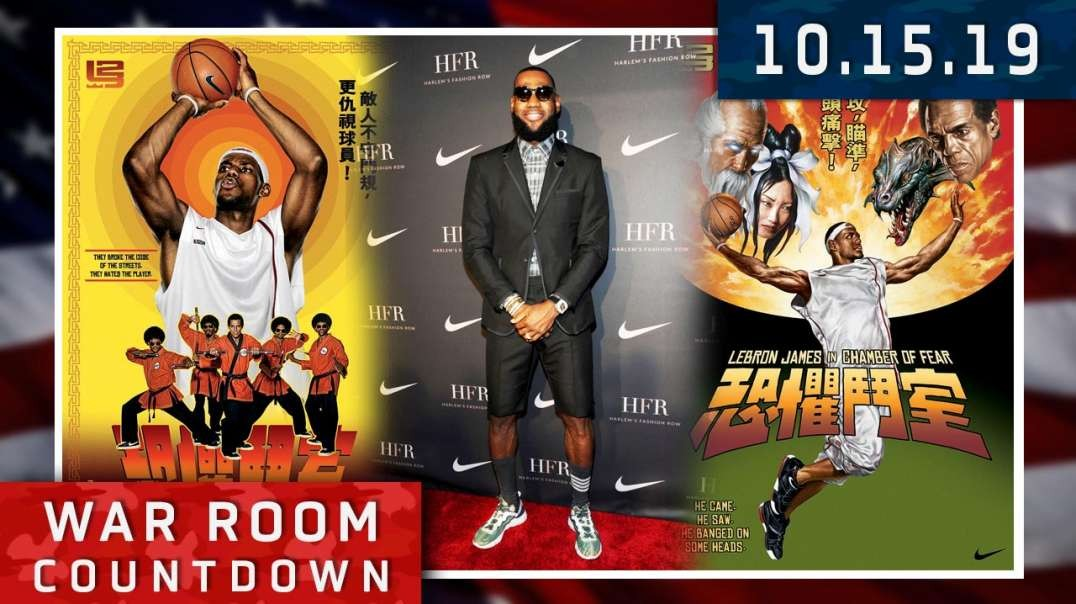 Countdown: Lebron James Proves That China Controls The NBA's Speech