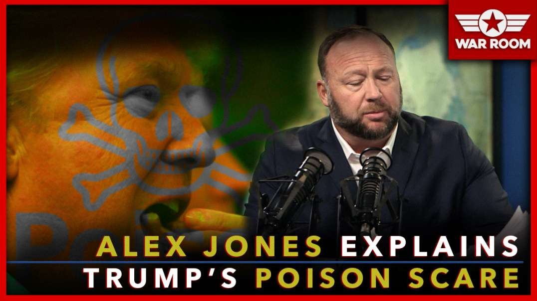 Alex Jones Explains Why Trump Was Rushed To Hospital For Food Poisoning Scare