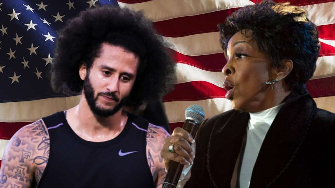 NFL's Kap Is Back as Gladys Knight Attacked by CNN for Singing National Anthem