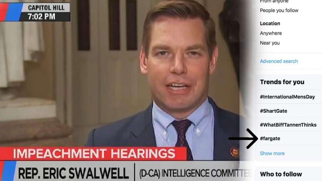 Swalwell Breaks Wind & the Internet: Shart Heard 'Round the World
