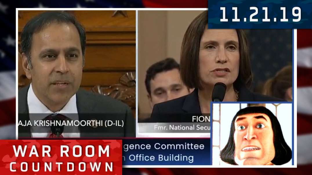 Countdown: Star Witness Fiona Hill Not A Real Witness Or A Real Woman