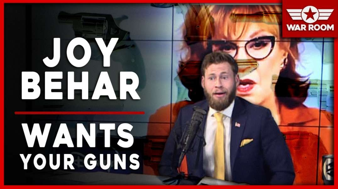Joy Behar Calls For The Unannounced Illegal Confiscation Of American's Firearms