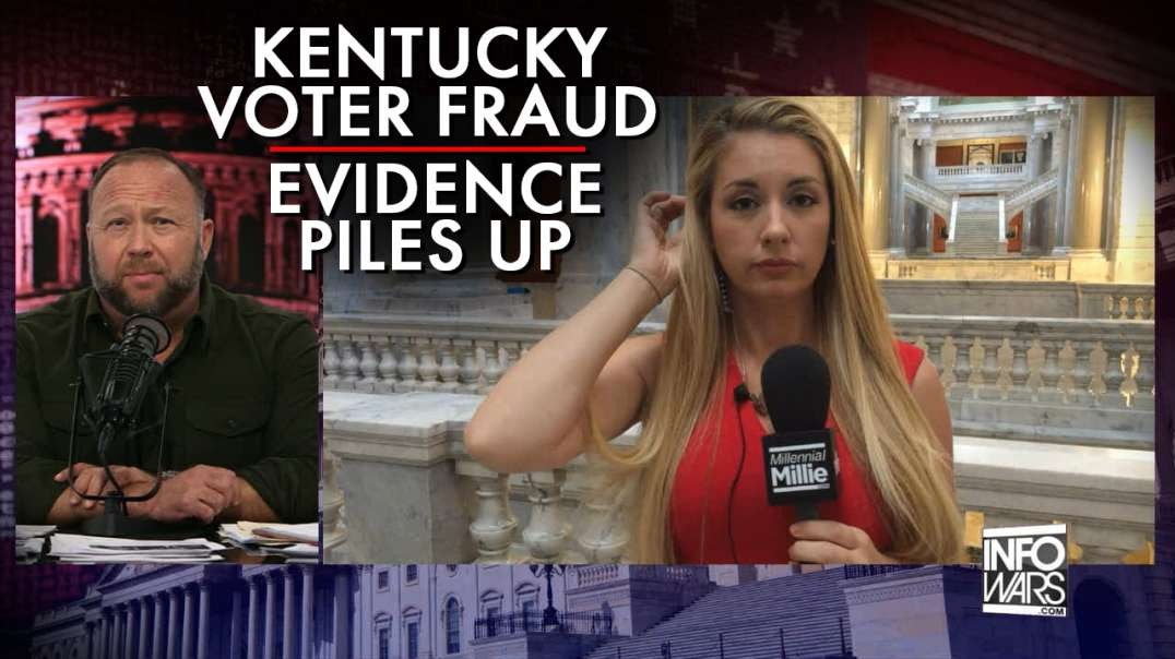 Kentucky Governor Holds Press Conference Detailing Massive Election Fraud