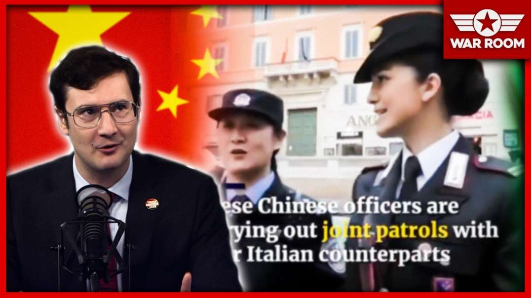 Chinese Police Patrol European Streets