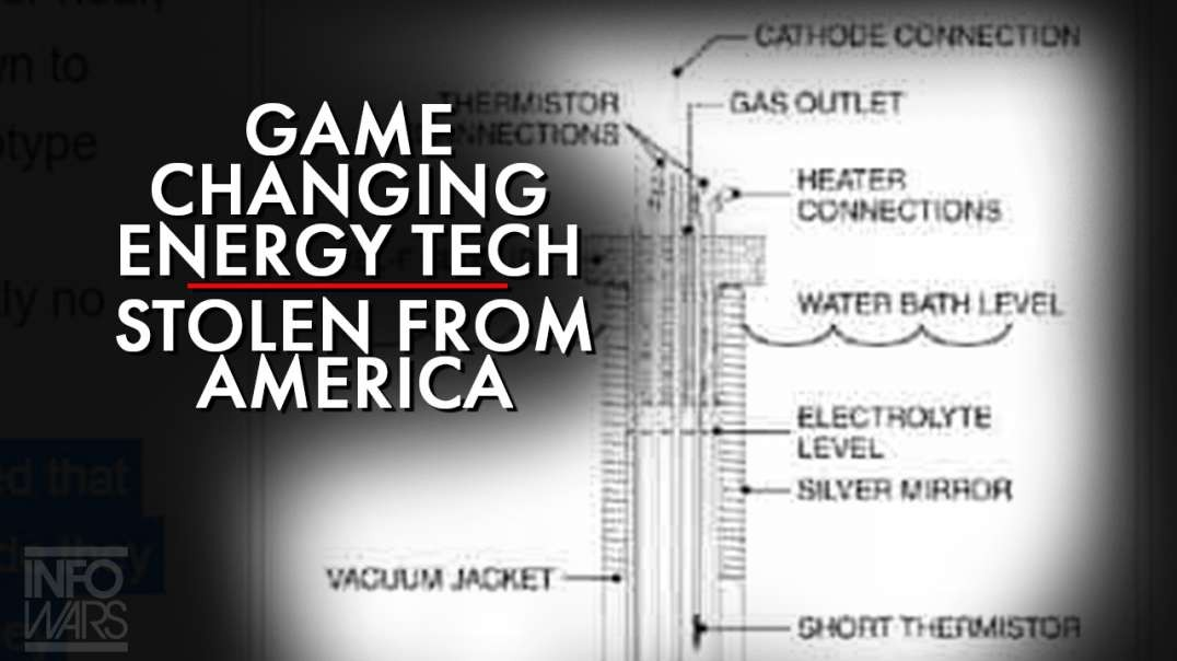 Game Changing Energy Technology Stolen From America