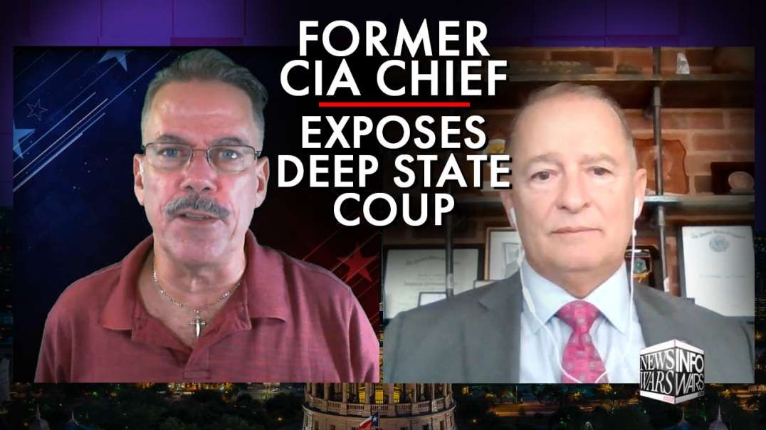 Deep State Coup Exposed By Former CIA Section Chief