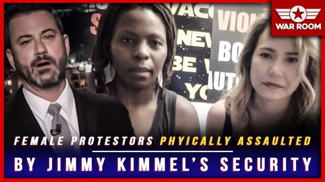 Female Protesters Physically Assaulted By Jimmy Kimmel's Security