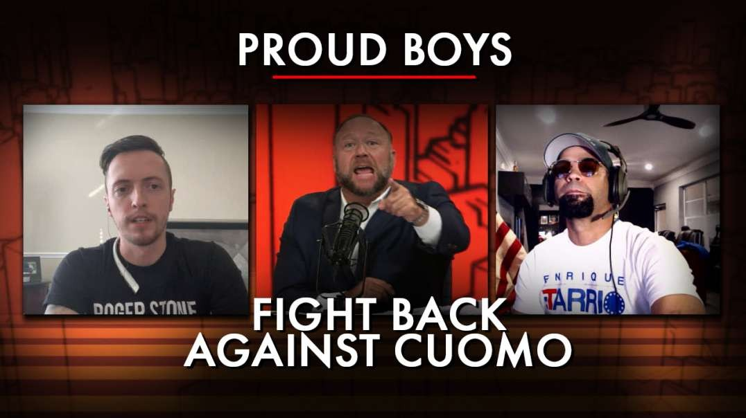Fredo Cuomo Freaked Out When The Proud Boys Confronted Him In New York