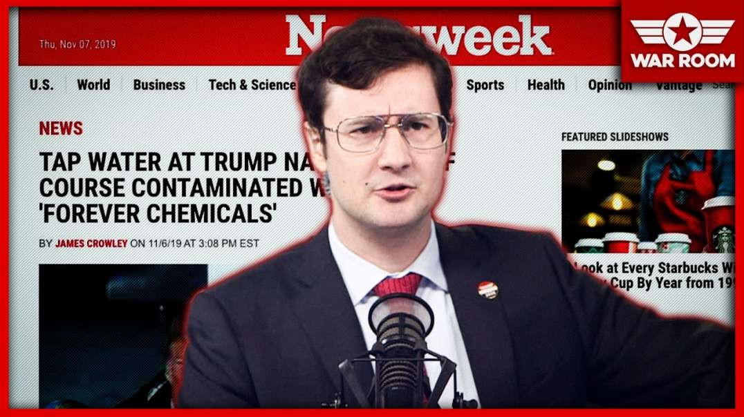 Newsweek Blames Trump For Poisoning New Jersey Water Supply