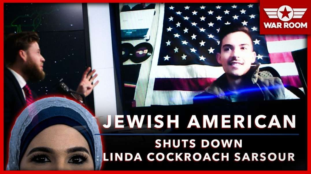 America First Jew Shouts Down Linda Cockroach Sarsour At College Event