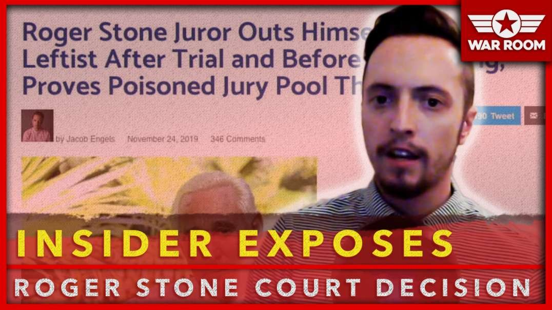 Roger Stone Insider Exposes Latest In Rigged Court Decision