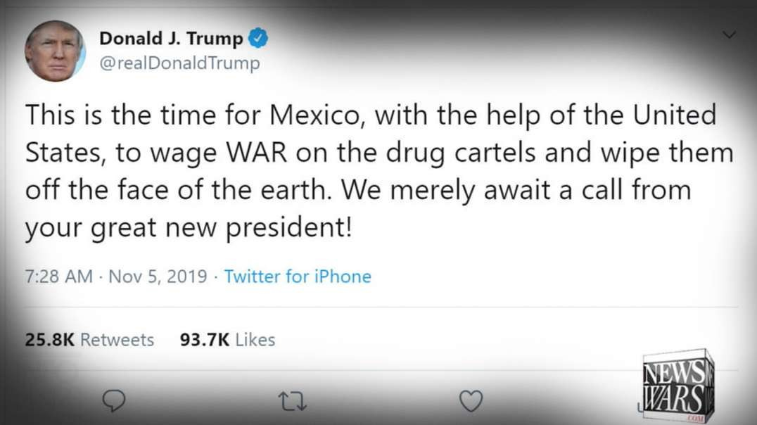 Trump Responds To American Families Slaughtered By Mexican Cartel