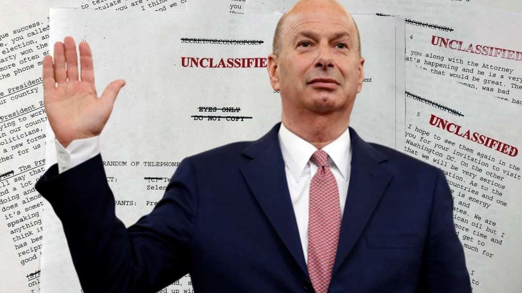 Sondland Becomes Rorschach Test For Impeachment