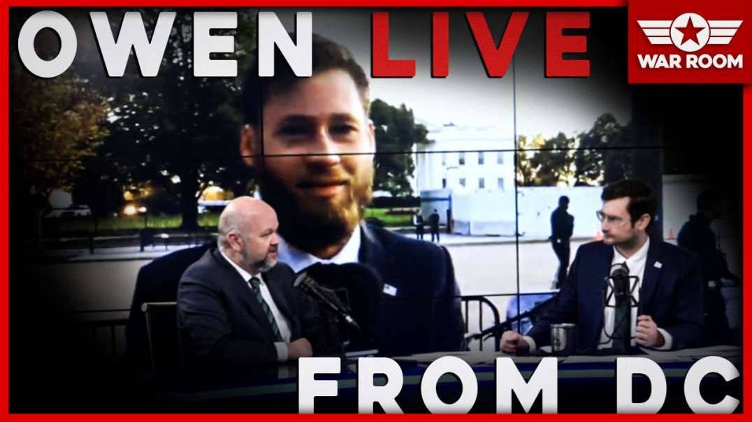 Owen Shoyer, Live From D.C., Confronted By Brain Dead Liberals Outside Of Whitehouse