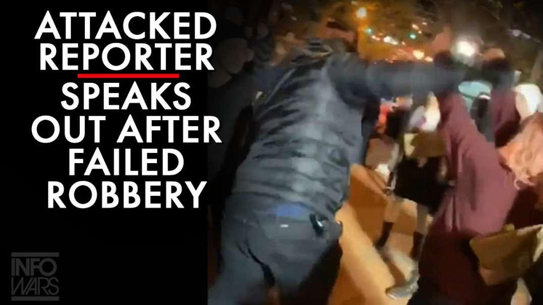 Watch ANTIFA Assault And Rob Female Reporter Kaitlin Bennett