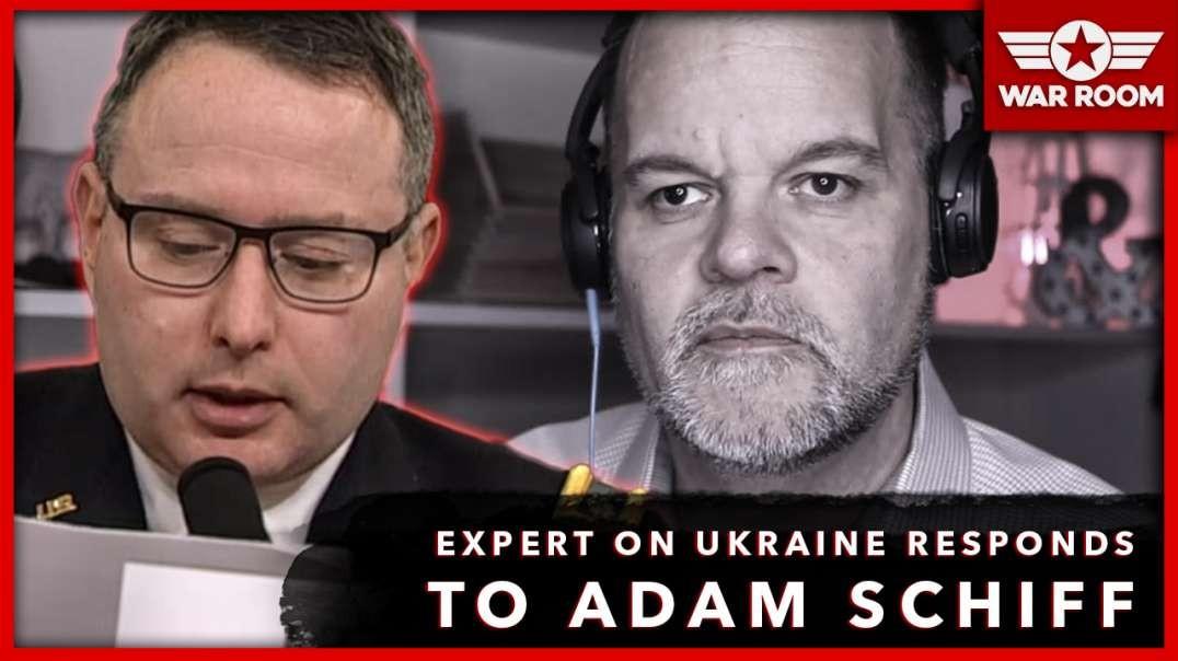 Expert On Ukraine Corruption Responds To Adam Schiff During Vindman Testimony