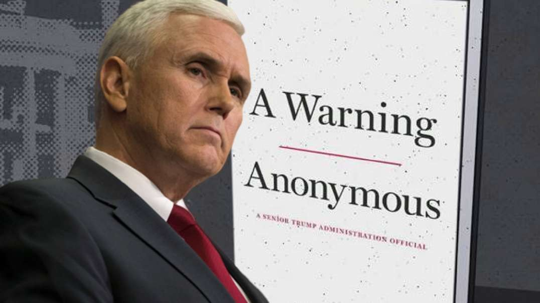 Did Pence Support Removing Trump? Anonymous Book Leaked Anonymously