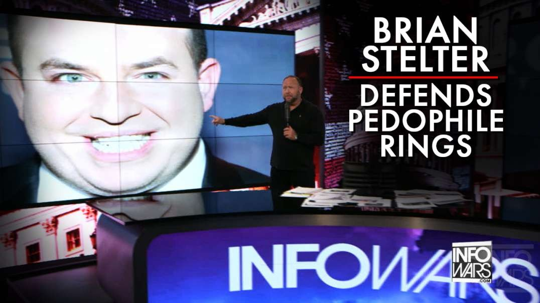 Brian Stelter Publicly Defends ABC's Cover-Up Of Epstein Child Blackmail Ring