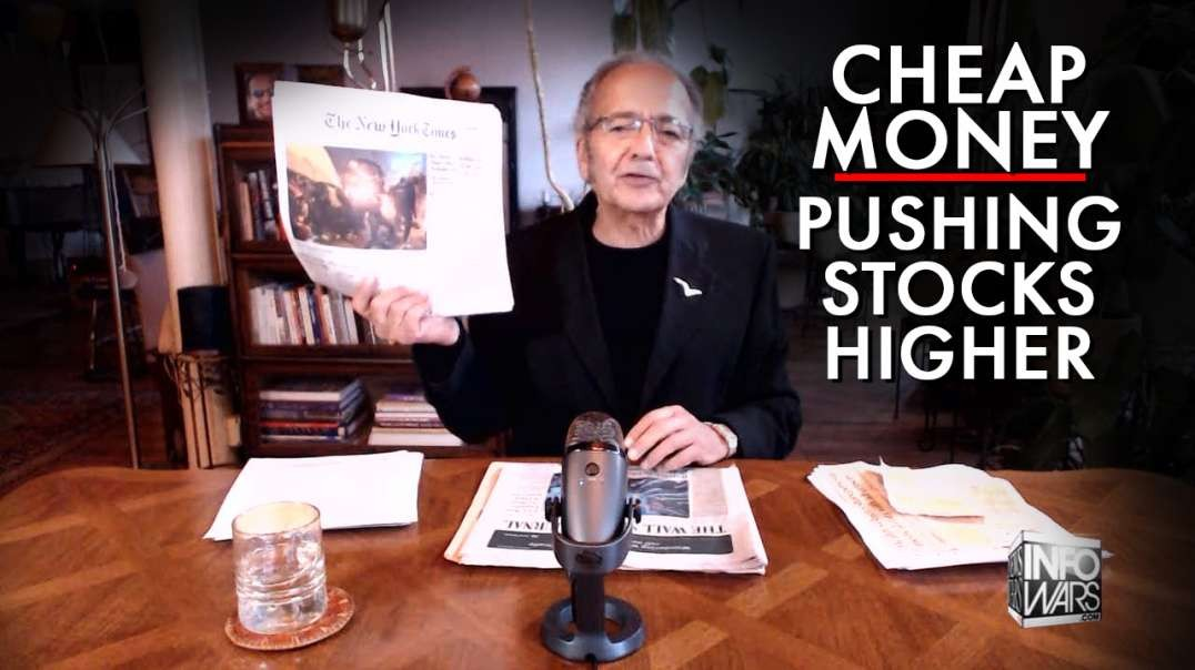 More Cheap Money Pushing Stocks Higher
