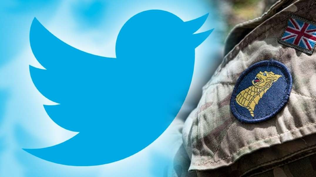 Twitter Exec Is Active UK Army Psyop Soldier