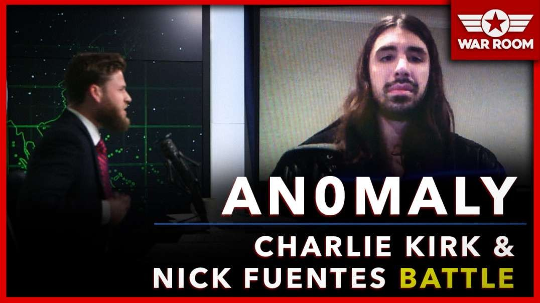 AnOmaly Joins The War Room To Discuss Charlie Kirk And Nick Fuentes Battle