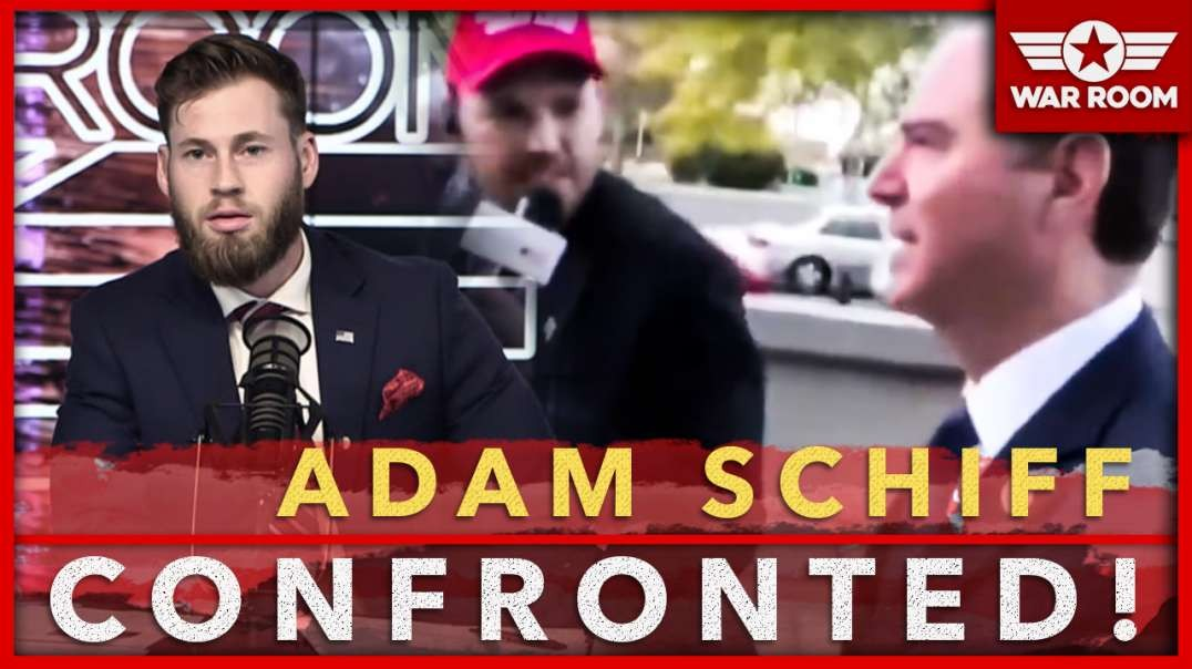 Adam Schiff Confronted By Independent Journalist About His Lies About President Trump