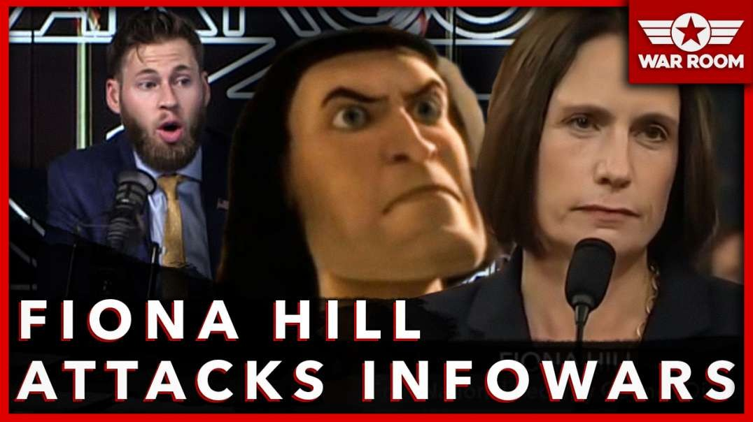 Fiona Hill Attacks Infowars As Conspiracy Theorists During Fake Impeachment Hearing