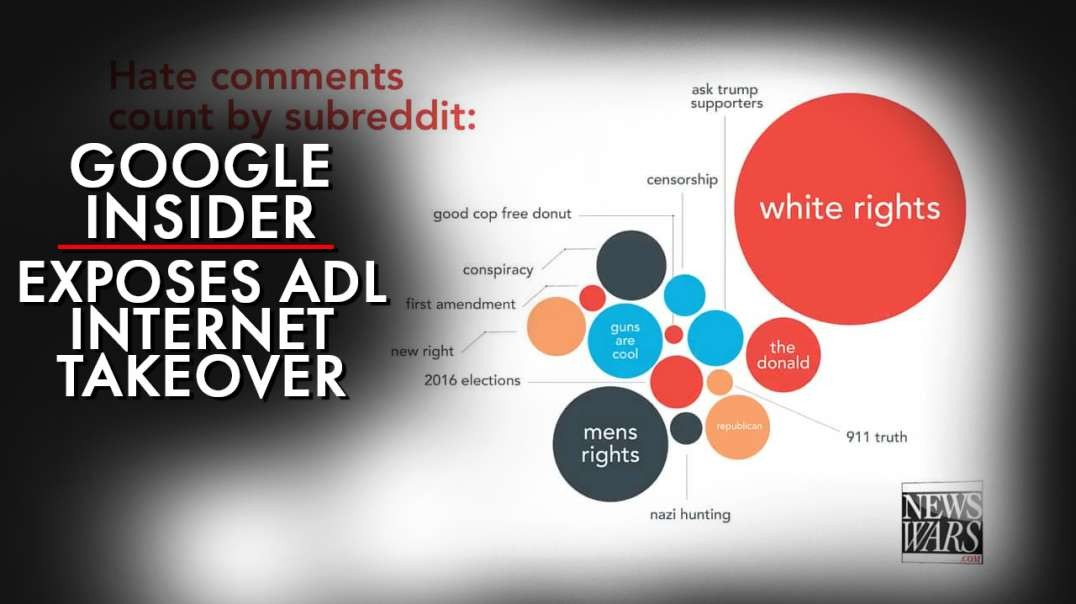 Google Insider Exposes ADL Internet Takeover Plan