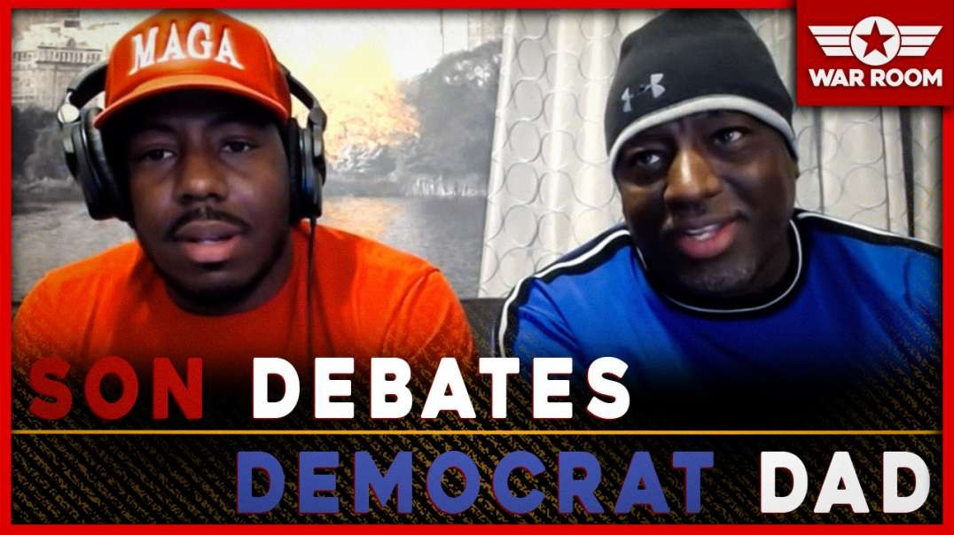 Bryson Gray Of The MAGA Challenge Debates His Democrat Father Live On Infowars