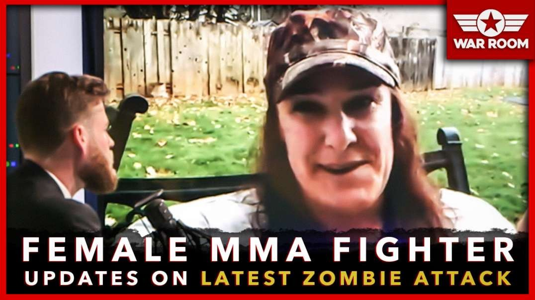 Female MMA Fighter Tells Infowars New Details Of Crazed Zombie Attack!