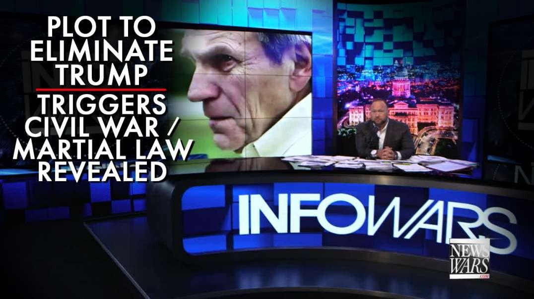 Plot To Eliminate Trump Triggers Civil War / Martial Law Revealed