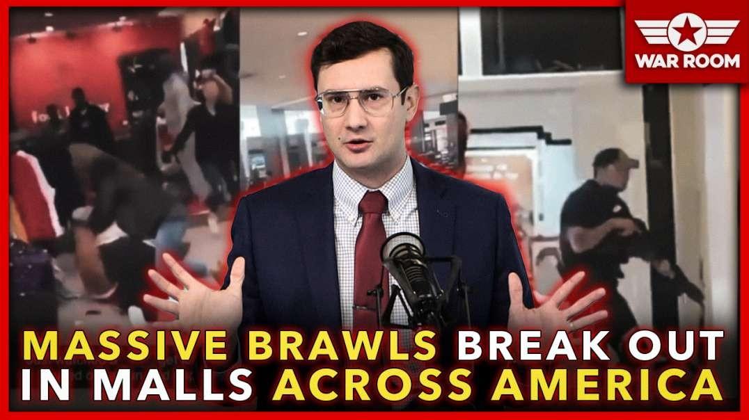 Insanity: Massive Brawls Break Out Simultaneously In Malls Across America