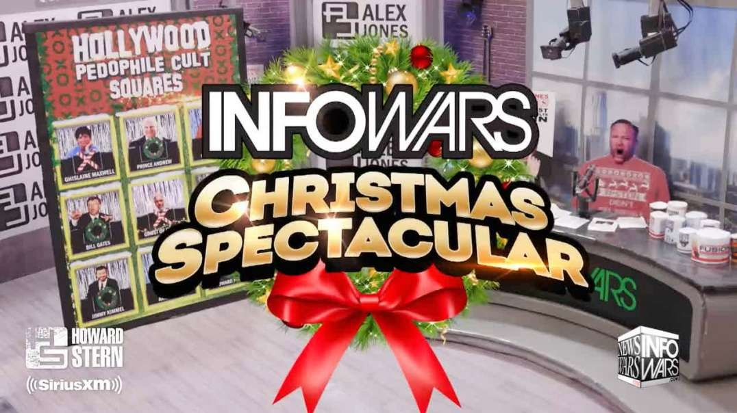The Alex Jones Christmas Special Takes Over The Howard Stern Show