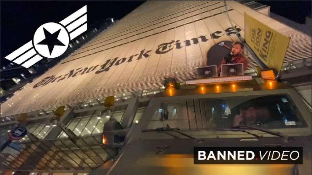 Patriots Protest Anti-Free Speech New York Times