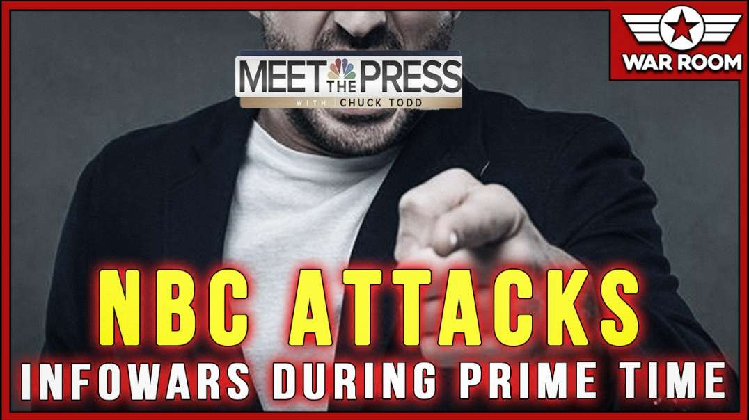 NBC's Meet The Press Attacks Infowars In Prime Time Special