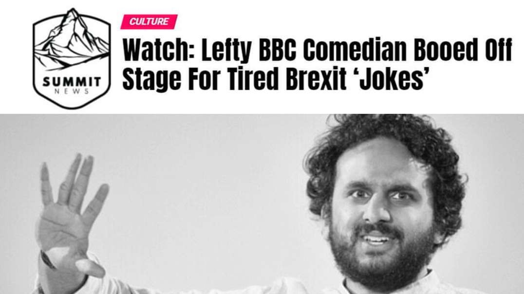 Leftist Comedian Booed Off Stage For Brexit Jokes