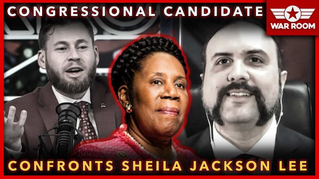 Congressional Candidate Confronts Sheila Jackson Lee, Calls Her Treasonous