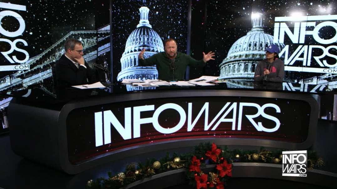 Ezra Levant Blown Away By How Leftists Treat Infowars Reporter Savanah Hernandez