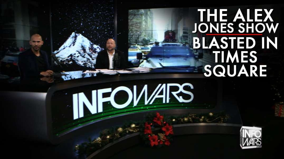 Watch Owen Shroyer Blast The Alex Jones Show Live In Times Square