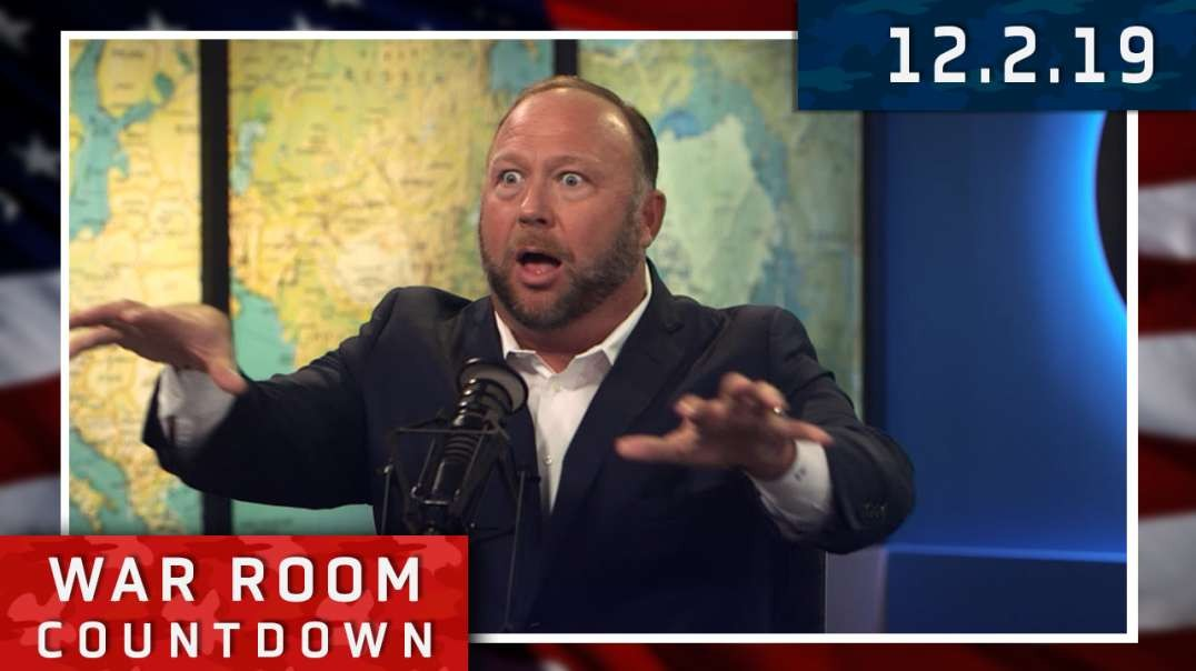 Countdown: Alex Jones And Owen Shroyer Refuse To Be Domesticated By Satan's Anti-Human Agenda