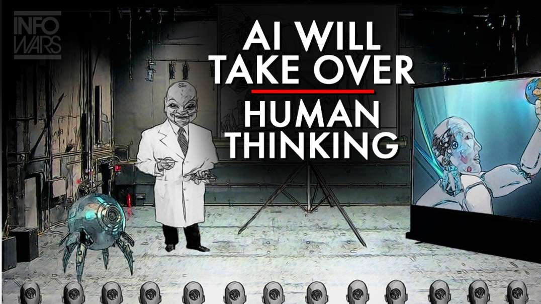 The Force Behind AI Will Take Over Human Thinking