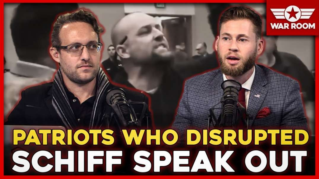 Patriots Who Disrupted Adam Schiff Speech In California Speak Out