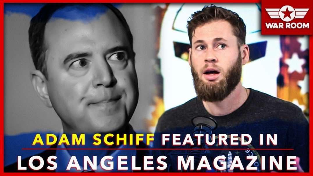 Adam Schiff Featured On Cover Of Los Angeles Magazine With Ed Buck