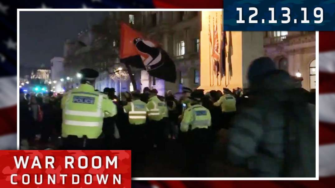 Countdown: Triggered Leftists Go Crazy In The UK While Violent Leftists Attack In The US