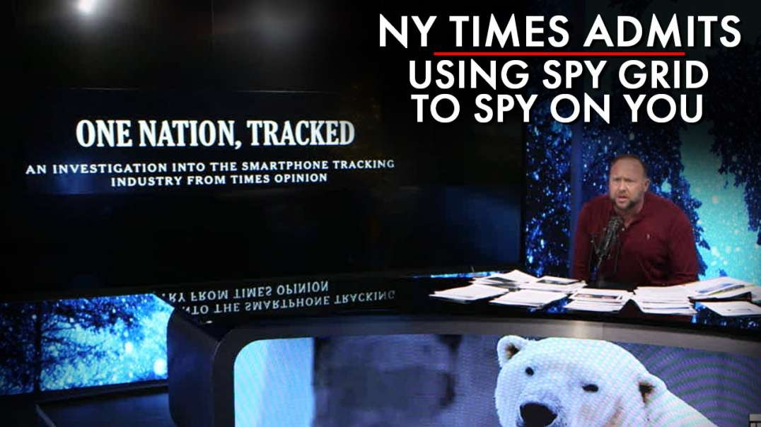The NY Times Admits Using Public Spy Grid To Track You